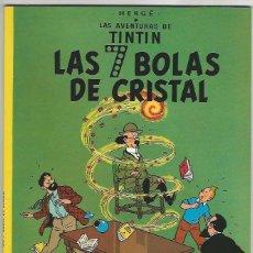 Cómics: JUVENTUD. TINT�N. LAS SIETE BOLAS DE CRISTAL.. Lote 271354668