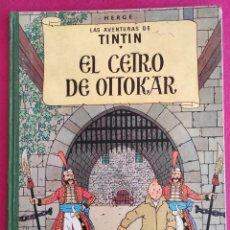 Cómics: TINTIN. HERGE. EL CETRO DE OTTOKAR. JUVENTUD, 1964. SEGUNDA EDICION. Lote 271557153