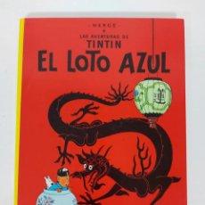 Cómics: TINTIN Y EL LOTO AZUL. Lote 271579833