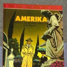 Cómics: AMERIKA. DETECTIVE EN HOLLYWOOD. EDITORIAL JUVENTUD. BERTHET. 1992. Lote 271593428