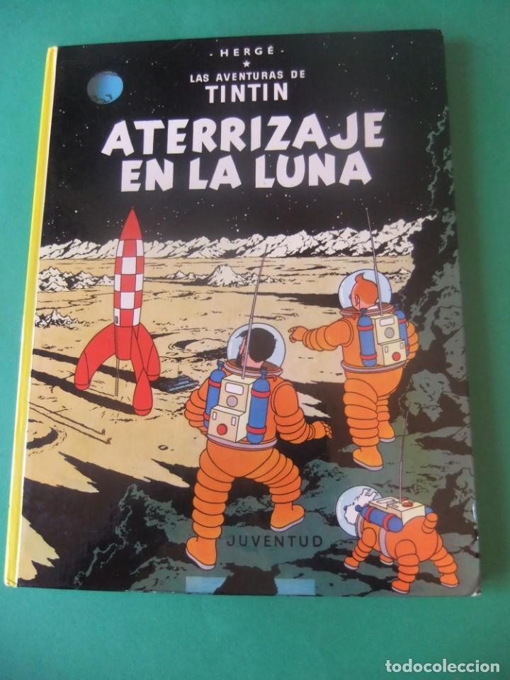 LAS AVENTURAS DE TINTIN ATERRIZAJE EN LA LUNA JUVENTUD 1986 (Tebeos y Comics - Juventud - Tintín)