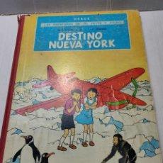Cómics: COMIC DESTINO NUEVA YORK EDITORIAL JUVENTUD PRIMERA EDICIÓN 1970 LOMO TELA. Lote 272998998