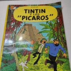 Cómics: TINTIN Y LOS PICAROS PRIMERA EDICIÓN JUVENTUD TAPA BLANDA 1976 DIFÍCIL. Lote 273449088