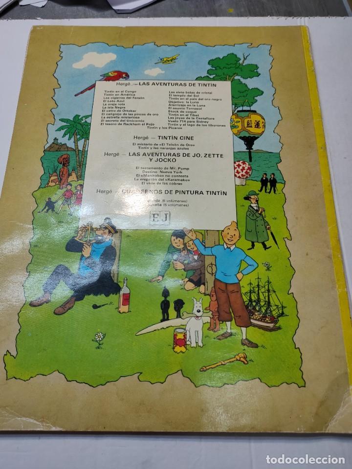 Cómics: Tintin y Los Picaros primera edición Juventud tapa blanda 1976 difícil - Foto 7 - 273449088