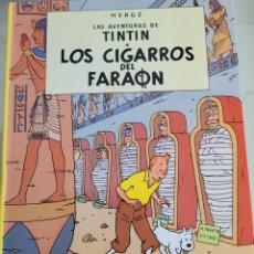 Cómics: TINTIN LOS CIGARROS DEL FARAÓN AÑO 1999. Lote 273465728