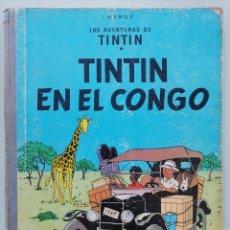 Cómics: LAS AVENTURAS DE TINTIN. TINTIN EN EL CONGO. HERGÉ. PRIMERA EDICIÓN 1ª. JUVENTUD. 1968. LOMO TELA. Lote 273715673