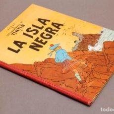 Comics : RESERVADO - TINTIN - LA ISLA NEGRA - 1ª EDICION - SUPER BUEN ESTADO - 1961. Lote 273922748