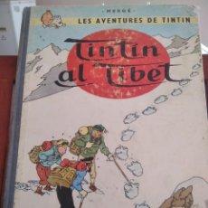 Cómics: TINTIN AL TIBET-HERGE-EN CATALA-2ª EDICIO 1970. Lote 274258208