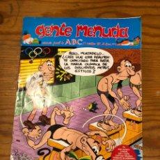 Cómics: GENTE MENUDA-ABC-II EPOCA. 1989-19 NOVIEMBRE-Nº 1(2€). Lote 274687573