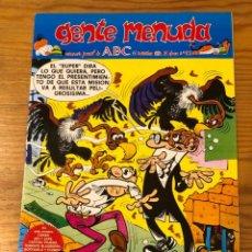 Cómics: GENTE MENUDA-ABC-II EPOCA. 1990-11NOVIEMBRE -Nº 52(2€). Lote 274687958
