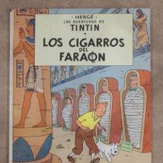 Cómics: TINTIN. LOS CIGARROS DEL FARAON. HERGE. JUVENTUD. 5ª EDICION. 1977. TAPA DURA. LOMO BLANCO.. Lote 275860713