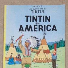 Cómics: TINTIN EN AMERICA. HERGE. JUVENTUD. 6ª EDICION. 1981. TAPA BLANDA.. Lote 275861558