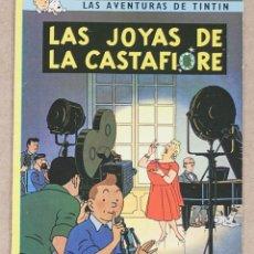 Cómics: TINTIN. LAS JOYAS DE LA CASTAFIORE. HERGE. JUVENTUD. 7ª EDICION. 1982. TAPA BLANDA.. Lote 275862128