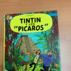 Comics : LAS AVENTURAS DE TINTÍN. TINTÍN Y LOS PÍCAROS. HERGÉ.1A EDICIÓN 1976. EDITORIAL JUVENTUD.BARCELONA.. Lote 276466053