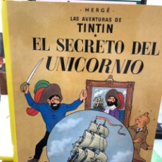Cómics: HERGÉ - LAS AVENTURAS DE TINTIN - JUVENTUD - EL SECRETO DEL UNICORNIO - 2003. Lote 277018913
