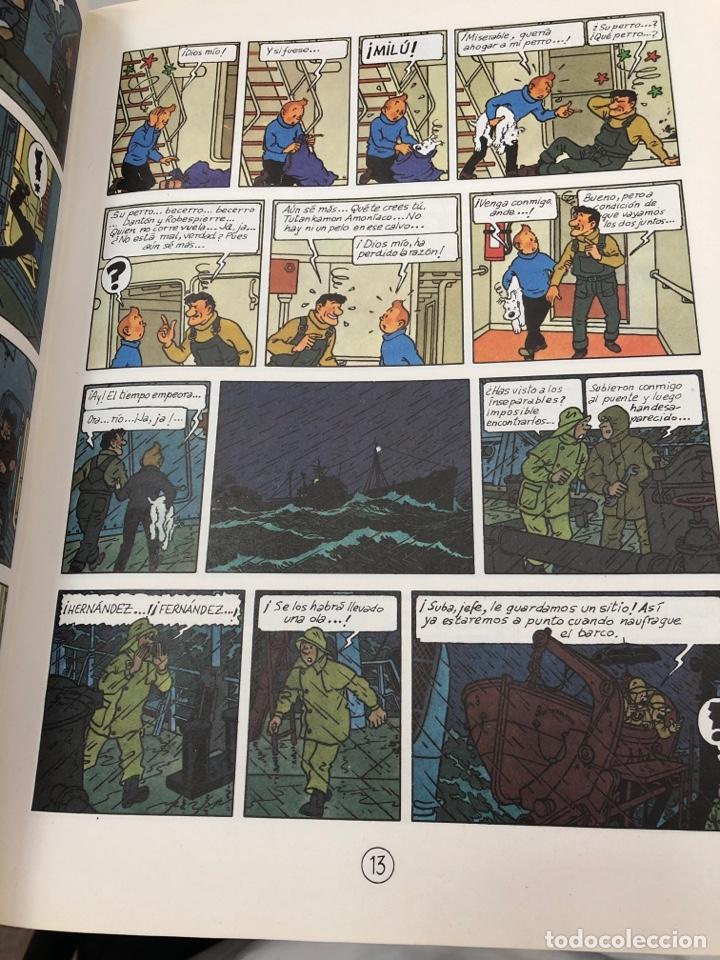 Cómics: Hergé - las aventuras de Tintin - juventud - en el pais del oro negro - tapa blanda 1987 - Foto 3 - 277025233