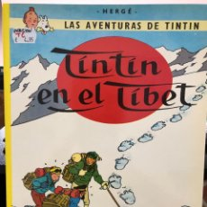 Cómics: HERGÉ - LAS AVENTURAS DE TINTIN - JUVENTUD - 2003 EN EL TIBET - TAPA BLANDA. Lote 277026083