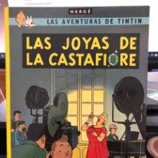 Cómics: HERGÉ - LAS AVENTURAS DE TINTIN - JUVENTUD - LAS JOYAS DE LA CASTAFIORE 1996 TAPA BLANDA. Lote 277026243