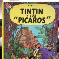 Cómics: HERGÉ - LAS AVENTURAS DE TINTIN - JUVENTUD - 2003 Y LOS PÍCAROS - TAPA BLANDA. Lote 277026478