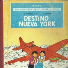 Cómics: LAS AVENTURAS DE JO, ZETTE Y JOCKO: DESTINO NUEVA YORK, 1970, JUVENTUD, PRIMERA EDICIÓN. Lote 277079438
