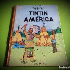 Comics : TINTIN EN AMERICA ED. JUVENTUD 1ª EDICION DE 1968. Lote 277112773