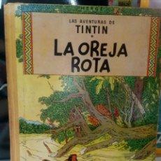 Cómics: TINTÍN LA OREJA ROTA. PRIMERA EDICIÓN AÑO 1965. LOMO DE TELA. MUY DIFÍCIL DE CONSEGUIR.. Lote 277705843