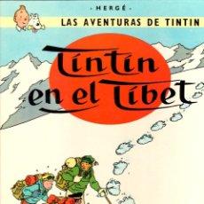 Cómics: TINTIN EN EL TIBET. 10ª EDICION. 1985. JUVENTUD. Lote 277729148
