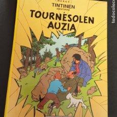 Cómics: TOURNESOLEN AUZIA TINTINEN ABENTURAK HERGÉ ELKAR AÑO 1989 EN EUSKERA. Lote 277749498