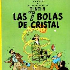 Cómics: LAS AVENTURAS DE TINTIN. LAS 7 BOLAS DE CRISTAL. AÑO 1985. NOVENA EDICION. Lote 278176993