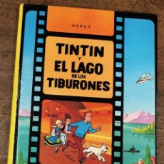 Cómics: TINTIN Y EL LAGO DE LOS TIBURONES. BASADA EN LA PELICULA DE DIBUJOS ANIMADOS. OCTAVA EDICION, 1988. Lote 278177783