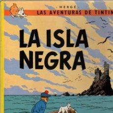 Cómics: LA ISLA NEGRA. LAS AVENTURAS DE TINTIN. 12ª EDICION. JUVENTUD 1989. Lote 278178363