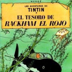 Cómics: EL TESORO DE RACKHAM EL ROJO. LAS AVENTURAS DE TINTIN. 9ª EDICION. AÑO 1982. Lote 278178663