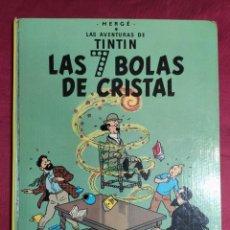 Cómics: TINTÍN LAS 7 BOLAS DE CRISTAL. EDITORIAL JUVENTUD. 1979. 6ª EDICION. Lote 278222898