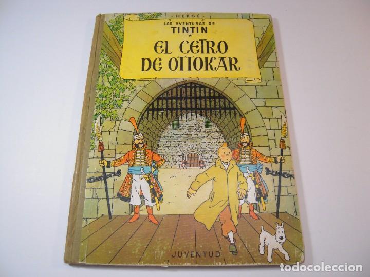 LAS AVENTURAS DE TINTIN EL CETRO DE OTTOKAR 2º EDICCION JUVENTUD 1964 (Tebeos y Comics - Juventud - Tintín)