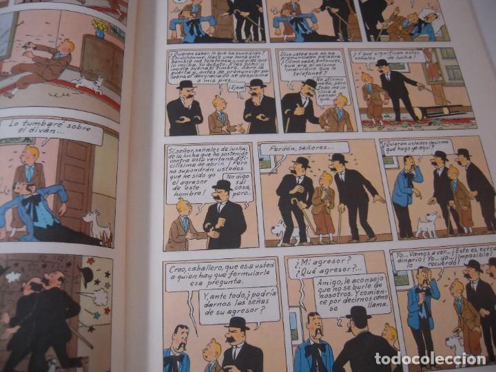 Cómics: las aventuras de tintin el cetro de ottokar 2º ediccion juventud 1964 - Foto 3 - 278274273
