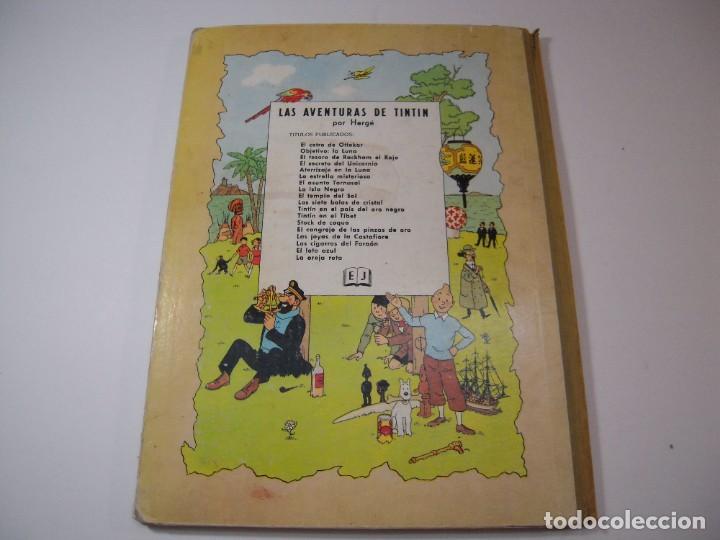 Cómics: las aventuras de tintin el cetro de ottokar 2º ediccion juventud 1964 - Foto 4 - 278274273