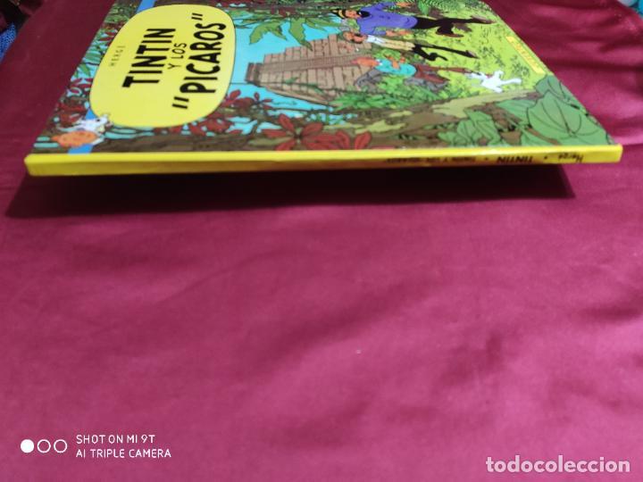 Cómics: TINTIN Y LOS PICAROS. EDITORIAL JUVENTUD. - Foto 4 - 278285123