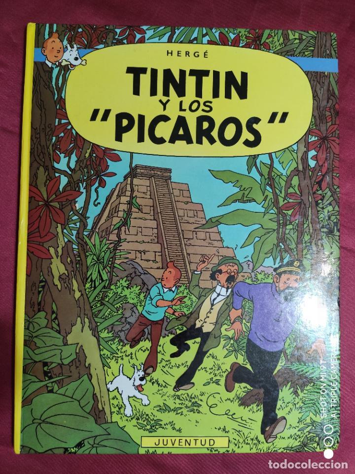 TINTIN Y LOS PICAROS. EDITORIAL JUVENTUD. (Tebeos y Comics - Juventud - Tintín)