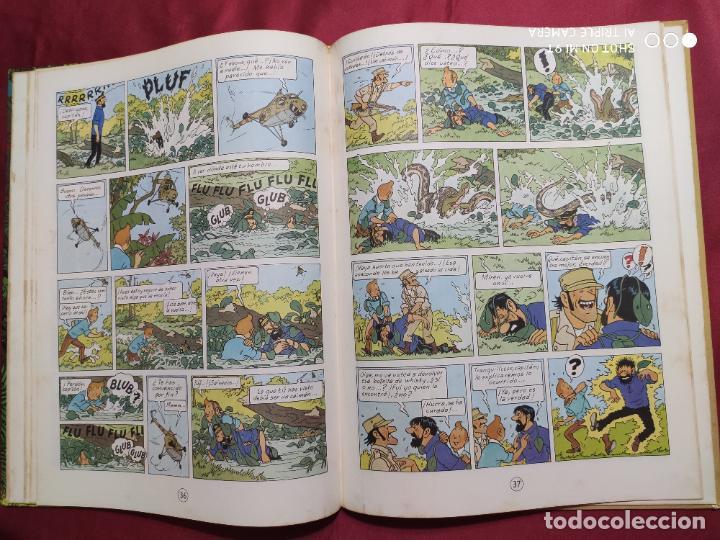 Cómics: TINTIN Y LOS PICAROS. EDITORIAL JUVENTUD. 2ª EDICION 1980 - Foto 4 - 278288133