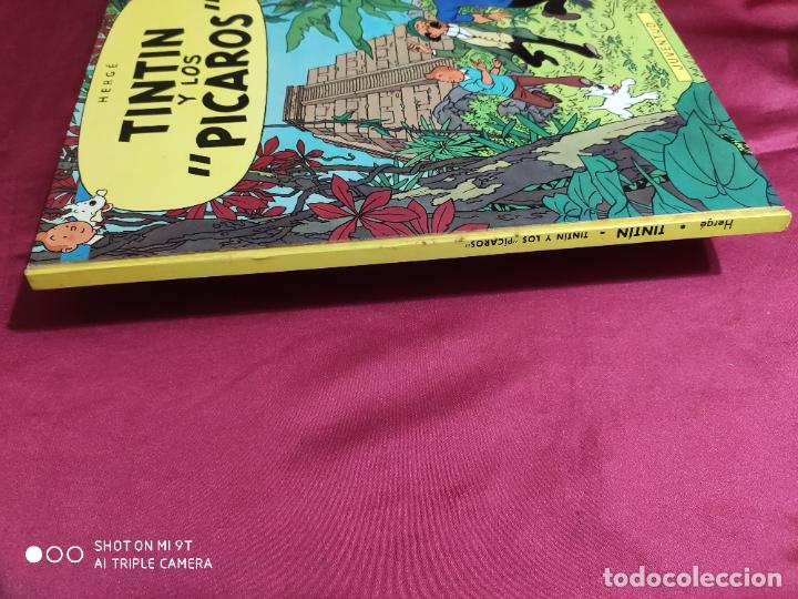 Cómics: TINTIN Y LOS PICAROS. EDITORIAL JUVENTUD. 2ª EDICION 1980 - Foto 6 - 278288133