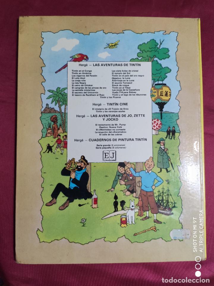 Cómics: TINTIN Y LOS PICAROS. EDITORIAL JUVENTUD. 2ª EDICION 1980 - Foto 7 - 278288133