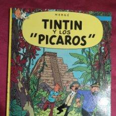 Cómics: TINTIN Y LOS PICAROS. EDITORIAL JUVENTUD. 2ª EDICION 1980. Lote 278288133