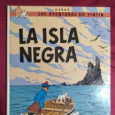Cómics: TINTIN LA ISLA NEGRA. EDITORIAL JUVENTUD. 1977. 5ª EDICION. Lote 278292458