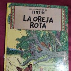 Cómics: TINTIN LA OREJA ROTA. EDITORIAL JUVENTUD. 1980. Lote 278294943