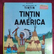 Cómics: TINTIN EN AMERICA. EDITORIAL JUVENTUD. 1979. Lote 278296073