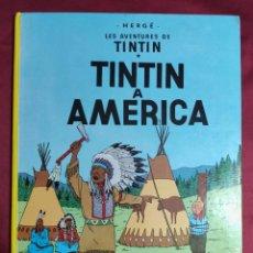 Cómics: TINTIN A AMERICA. EDITORIAL JOVENTUD. 1989. EN CATALÁ. Lote 278296658