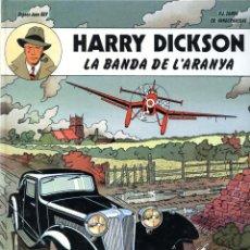 Cómics: HARRY DICKSON Nº 1 - LA BANDA DE L'ARANYA - JOVENTUT 1989 - EN CATALÁN - TAPAS DURAS. Lote 278619808