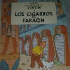 Cómics: TINTIN - LOS CIGARROS DEL FARAON. JUVENTUD. 5ª EDICION. 1977. TAPA DURA. LOMO BLANCO.. Lote 278626118