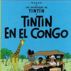 Cómics: TINTIN EN EL CONGO. LAS AVENTURAS DE TINTIN. 25ª EDICION. AÑO 2012. Lote 279415453