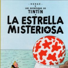 Cómics: TINTIN. LA ESTRELLA MISTERIOSA. 29ª EDICION, AÑO 2013. Lote 279415603